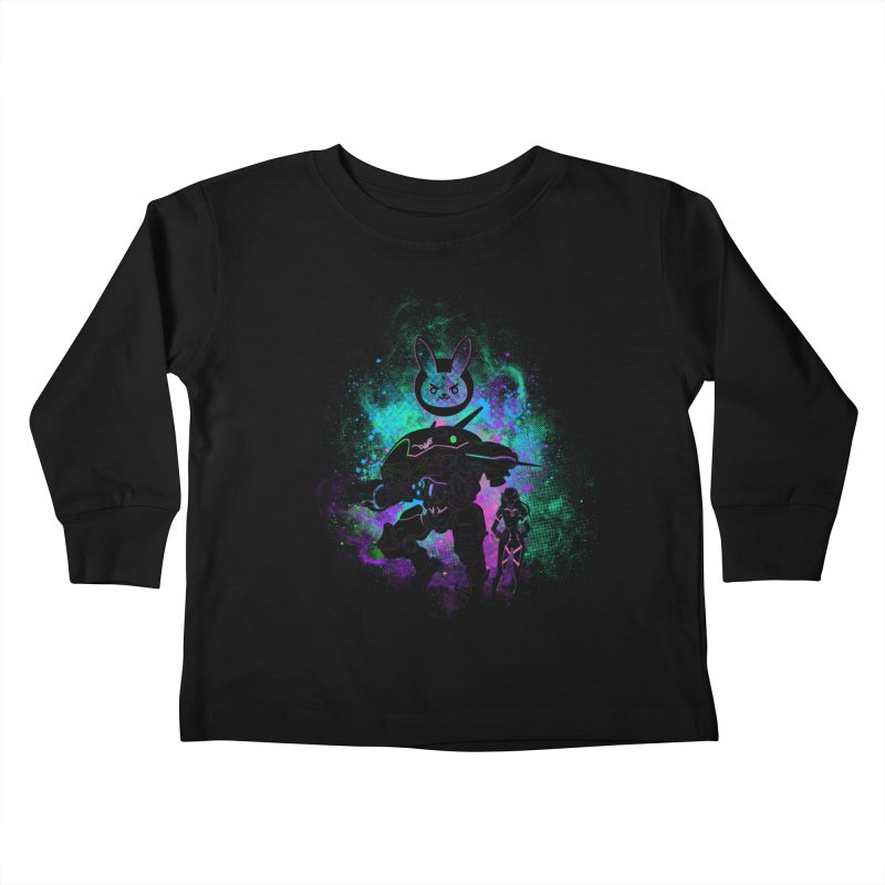 Nerf this Art Kids Toddler Longsleeve T-Shirt by Donnie's Artist Shop