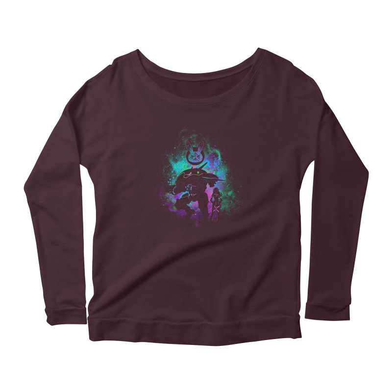 Nerf this Art Women's Scoop Neck Longsleeve T-Shirt by Donnie's Artist Shop