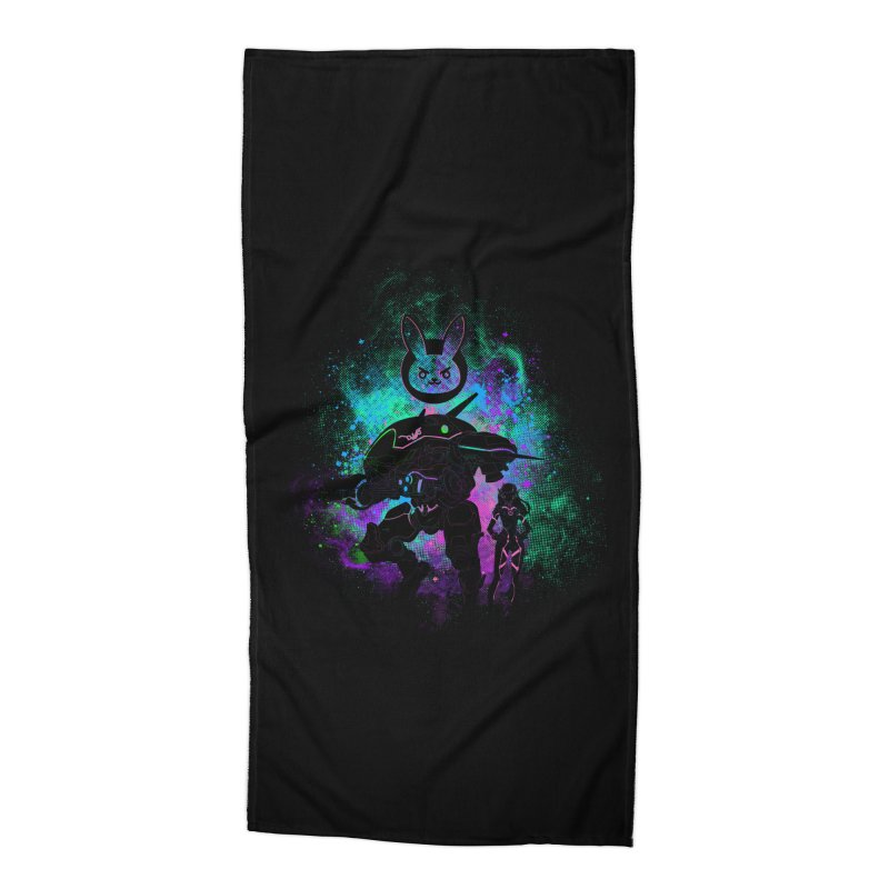 Nerf this Art Accessories Beach Towel by Donnie's Artist Shop