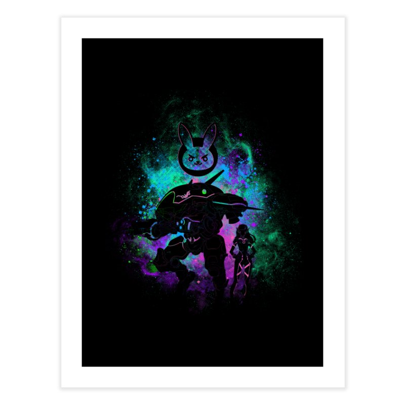 Nerf this Art Home Fine Art Print by Donnie's Artist Shop