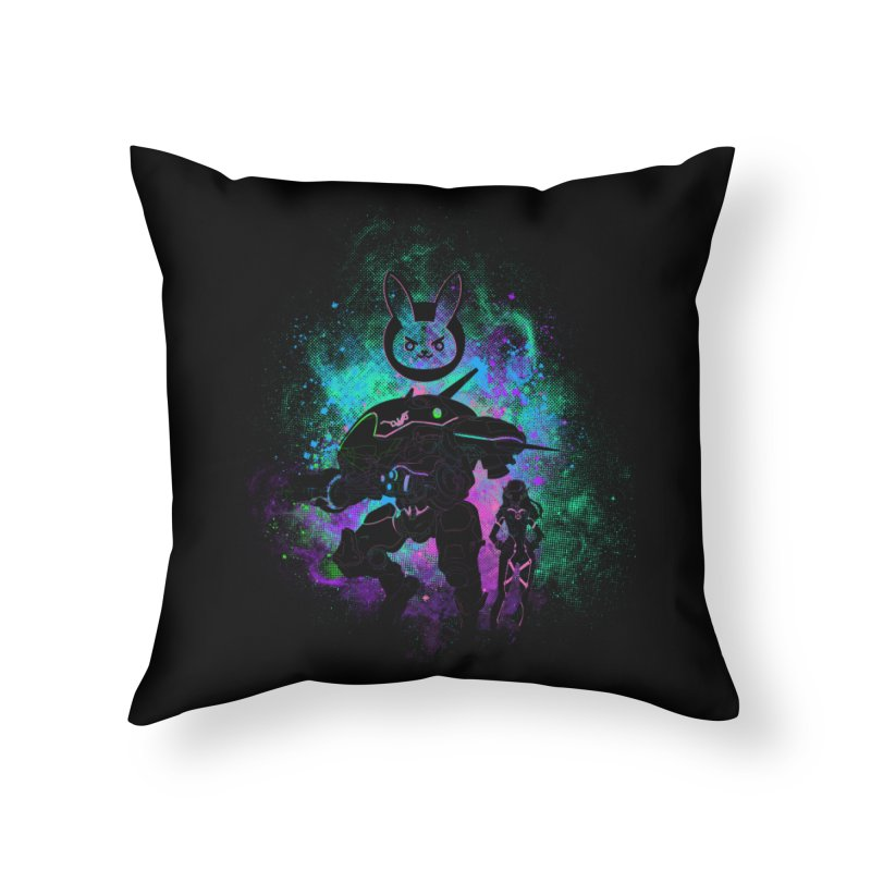 Nerf this Art Home Throw Pillow by Donnie's Artist Shop
