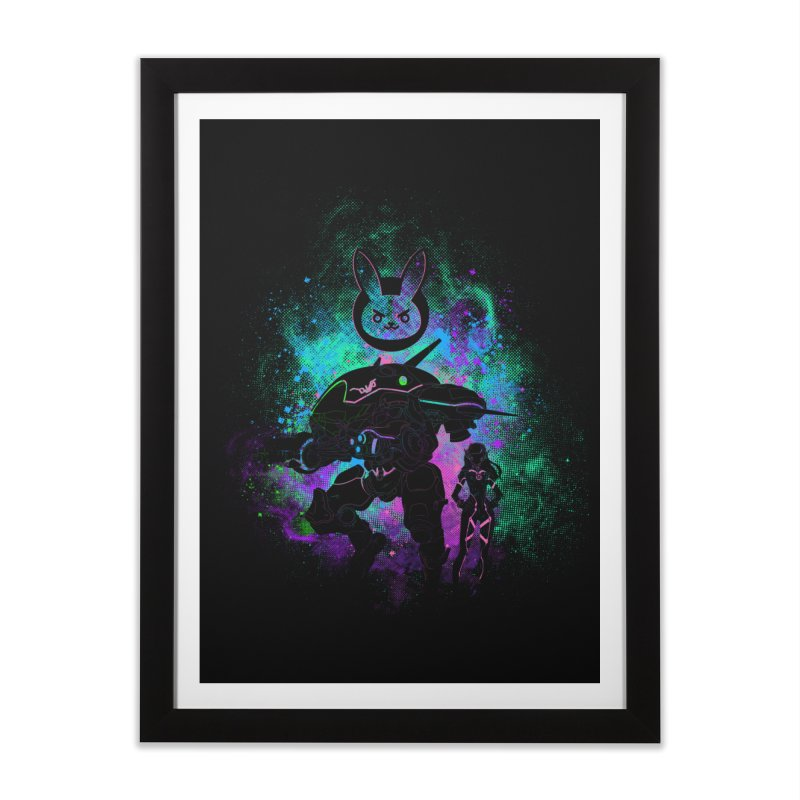Nerf this Art Home Framed Fine Art Print by Donnie's Artist Shop