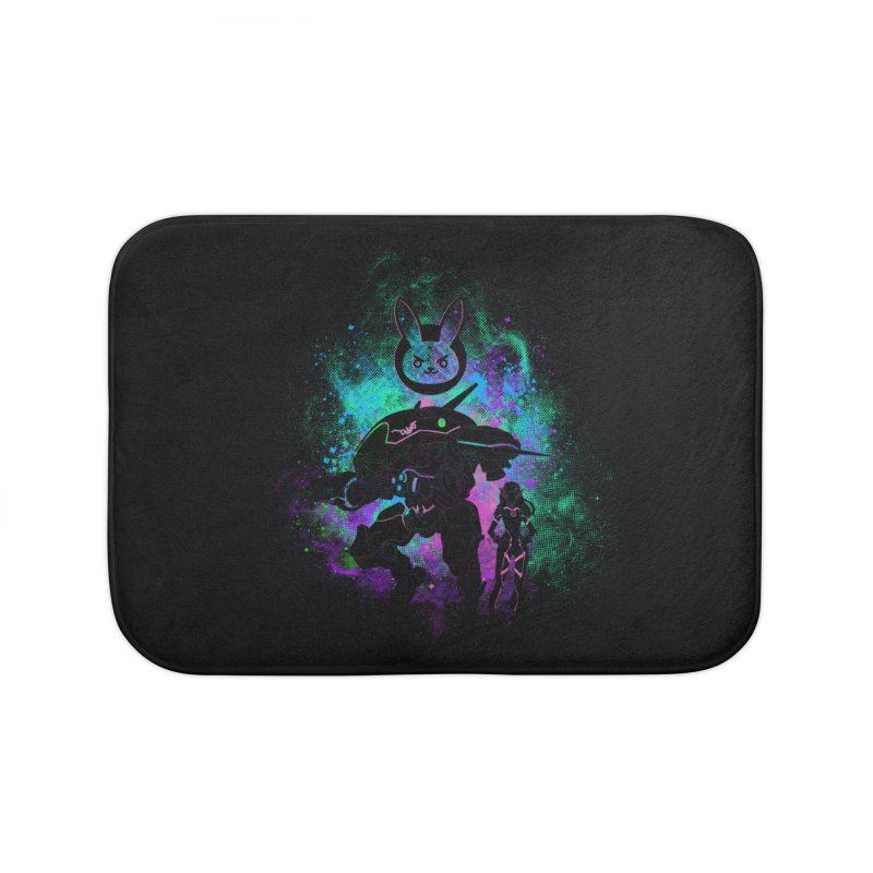 Nerf this Art Home Bath Mat by Donnie's Artist Shop