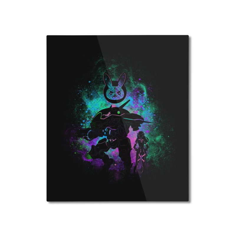 Nerf this Art Home Mounted Aluminum Print by Donnie's Artist Shop