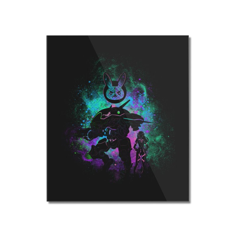 Nerf this Art Home Mounted Acrylic Print by Donnie's Artist Shop