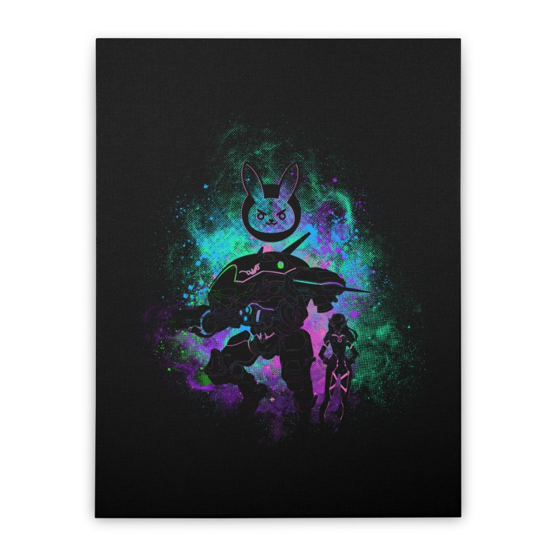 Nerf this Art Home Stretched Canvas by Donnie's Artist Shop