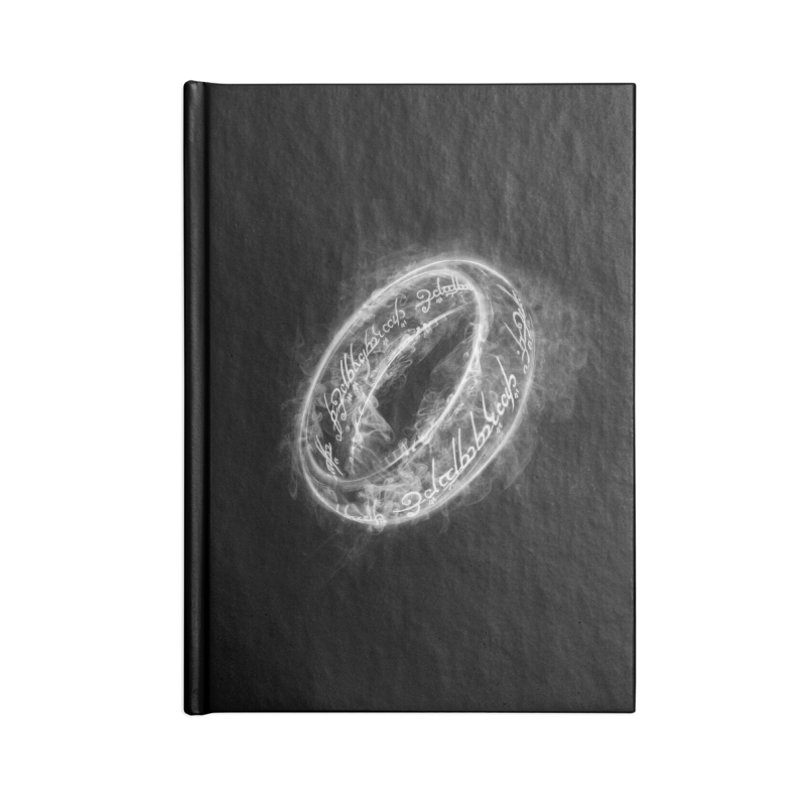 Ring Smoke Accessories Notebook by Donnie's Artist Shop