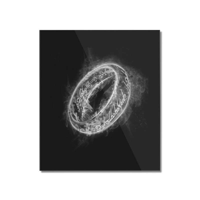 Ring Smoke Home Mounted Acrylic Print by Donnie's Artist Shop