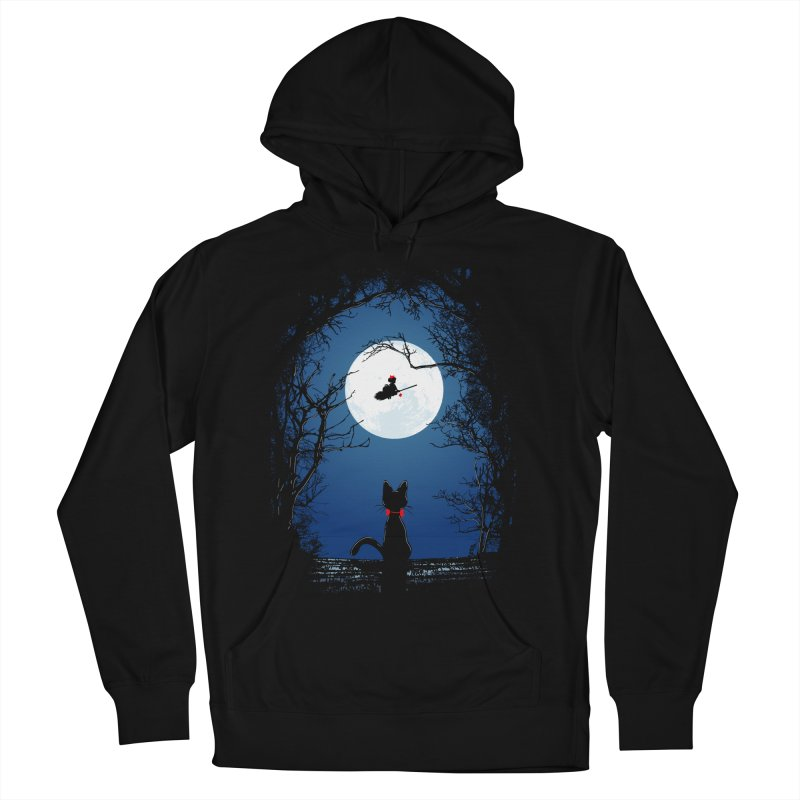 Fly with your spirit Men's French Terry Pullover Hoody by Donnie's Artist Shop