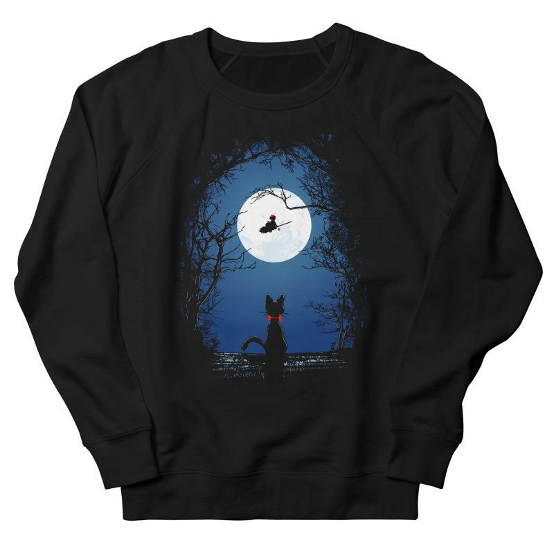 Fly with your spirit Women's French Terry Sweatshirt by Donnie's Artist Shop