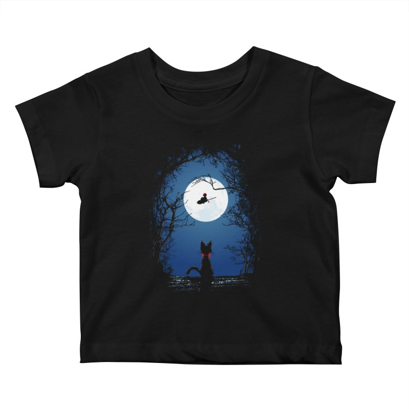 Fly with your spirit Kids Baby T-Shirt by Donnie's Artist Shop