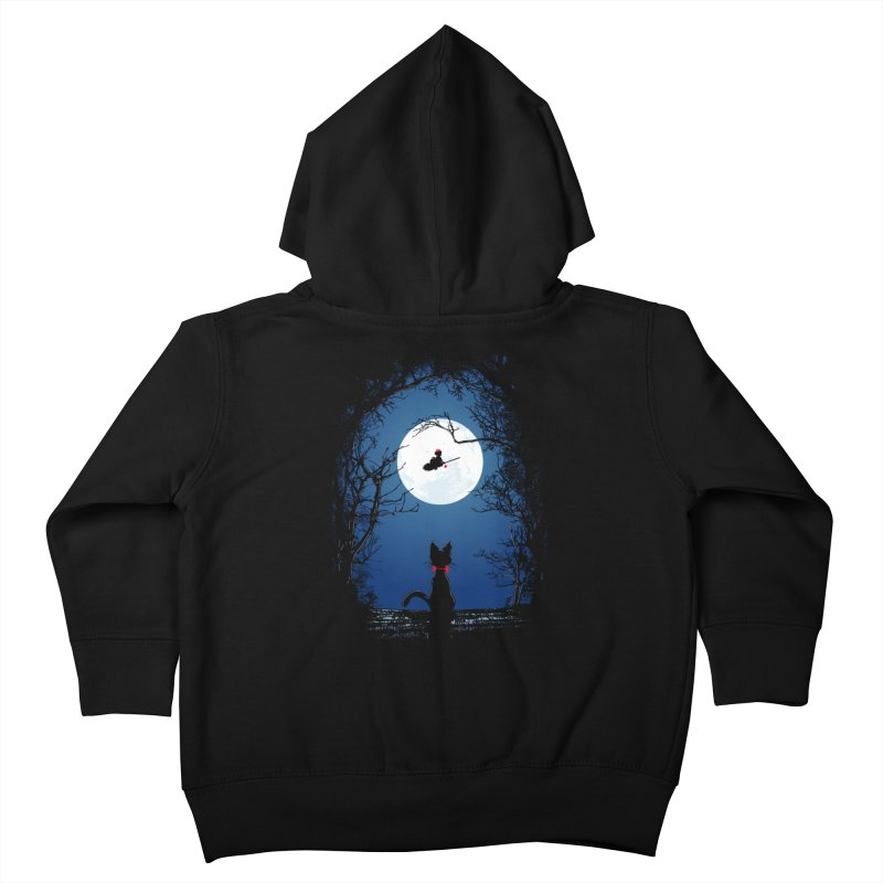 Fly with your spirit Kids Toddler Zip-Up Hoody by Donnie's Artist Shop