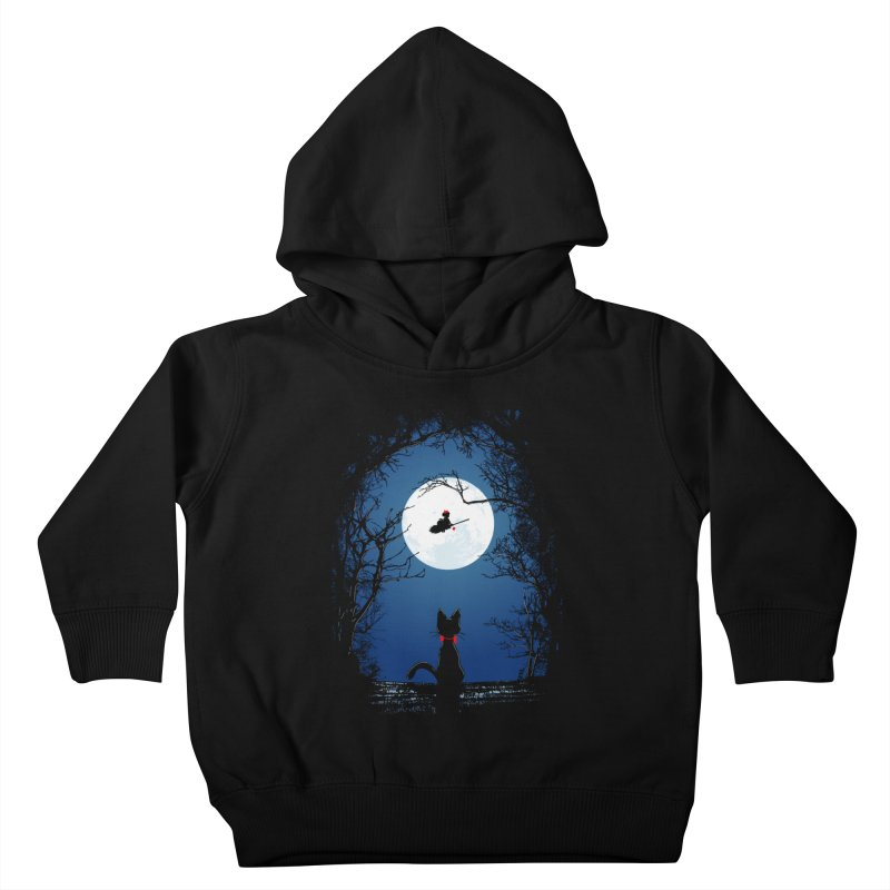Fly with your spirit Kids Toddler Pullover Hoody by Donnie's Artist Shop