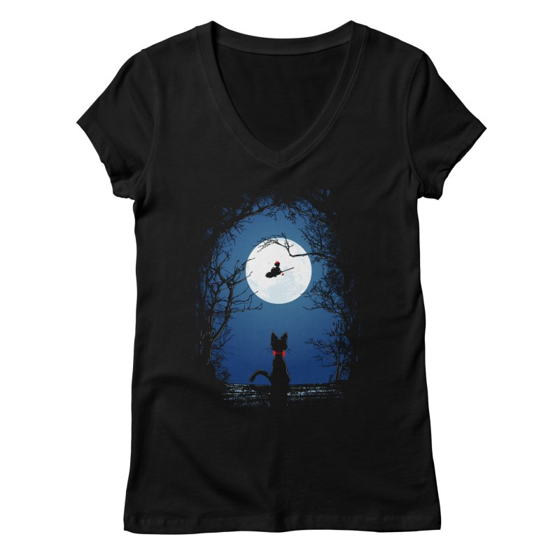 Fly with your spirit Women's Regular V-Neck by Donnie's Artist Shop