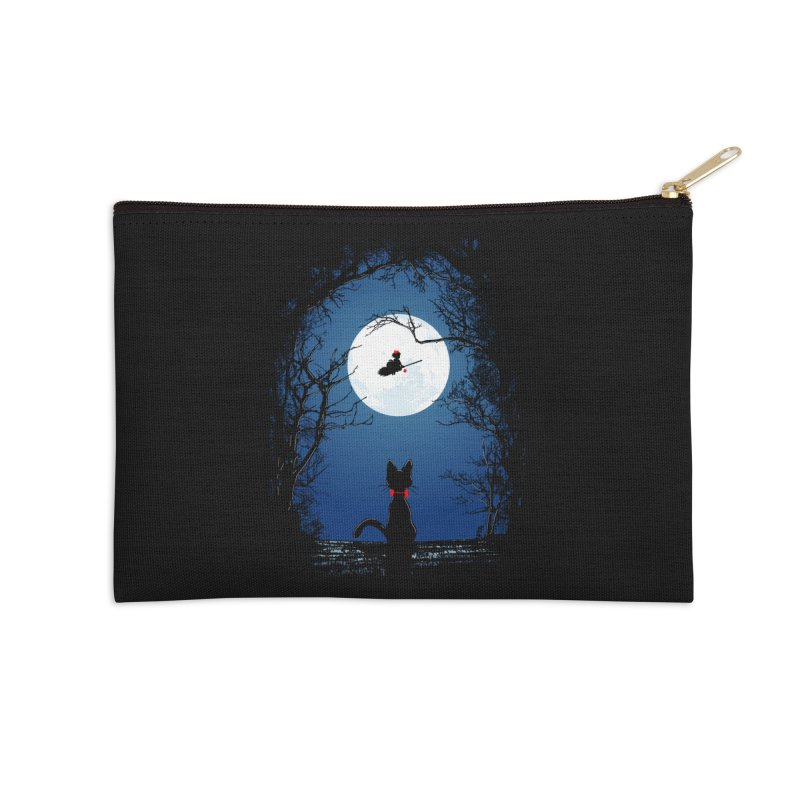 Fly with your spirit Accessories Zip Pouch by Donnie's Artist Shop