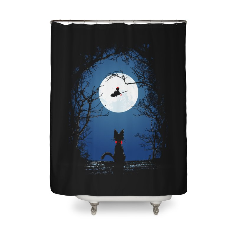 Fly with your spirit Home Shower Curtain by Donnie's Artist Shop