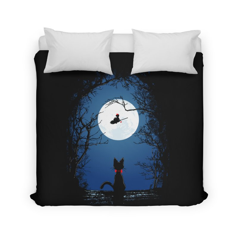 Fly with your spirit Home Duvet by Donnie's Artist Shop