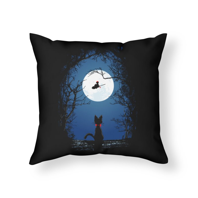 Fly with your spirit Home Throw Pillow by Donnie's Artist Shop