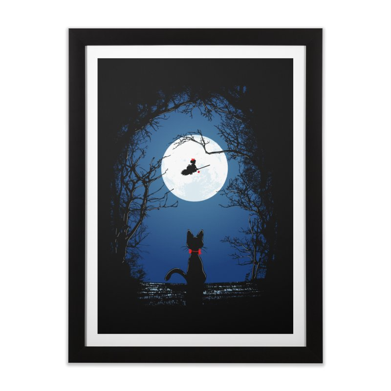 Fly with your spirit Home Framed Fine Art Print by Donnie's Artist Shop