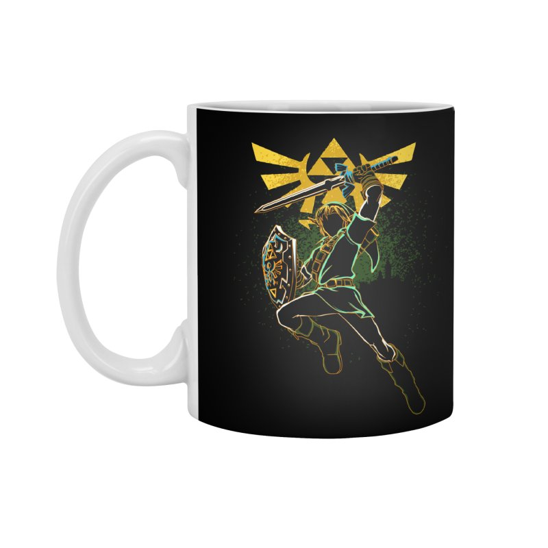 Shadow of courage Accessories Mug by Donnie's Artist Shop