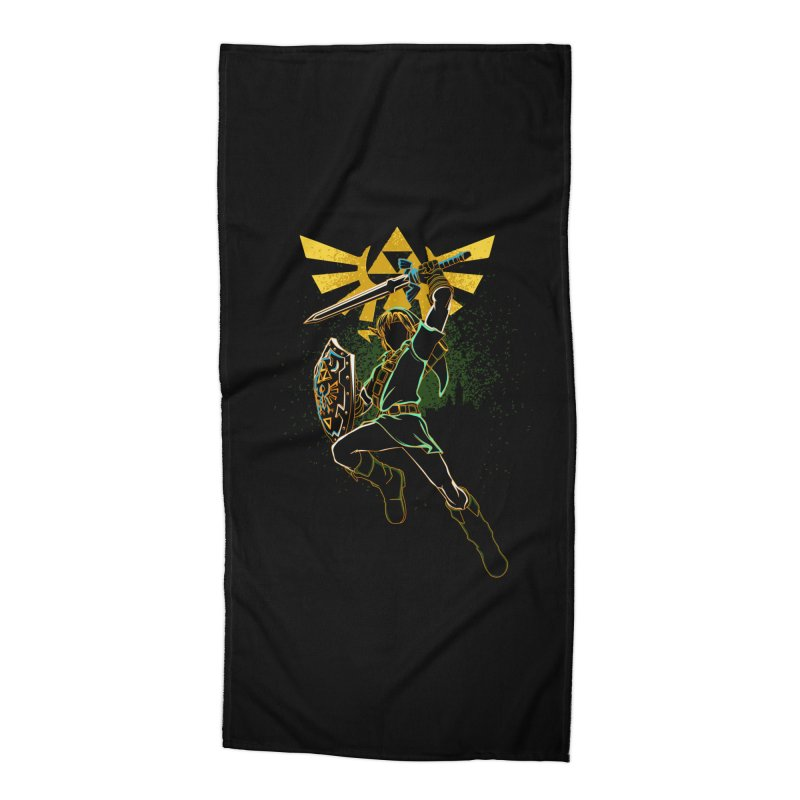 Shadow of courage Accessories Beach Towel by Donnie's Artist Shop