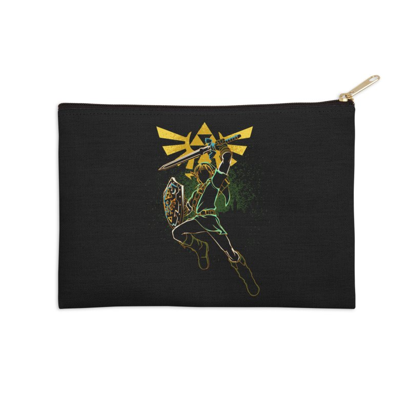 Shadow of courage Accessories Zip Pouch by Donnie's Artist Shop