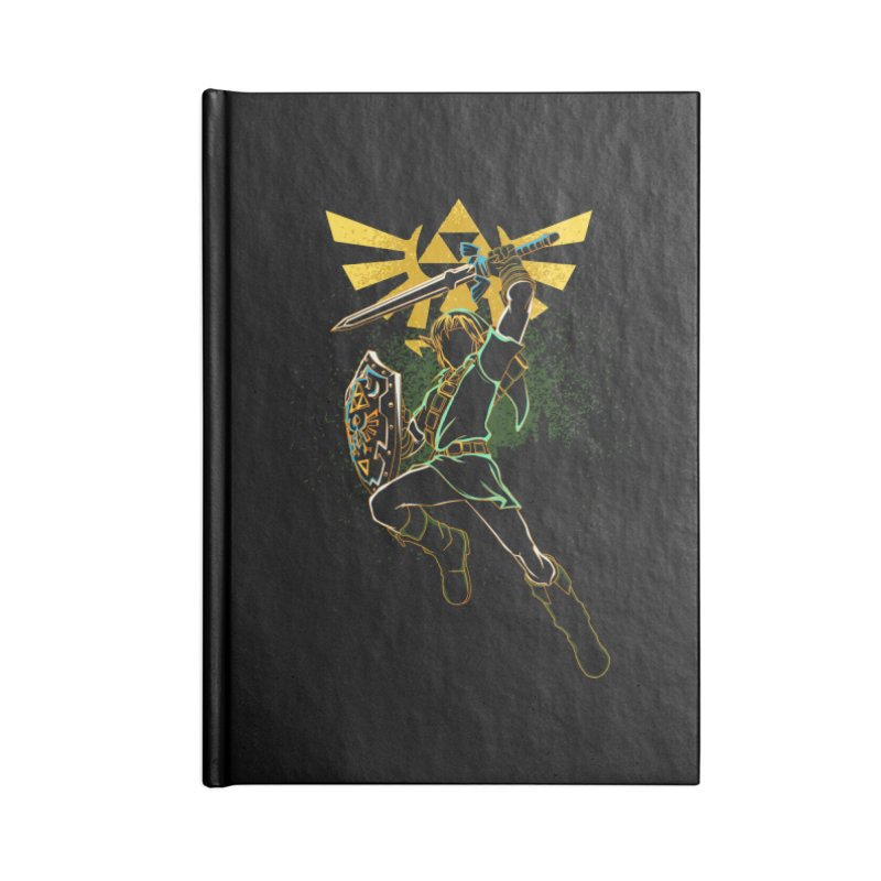Shadow of courage Accessories Notebook by Donnie's Artist Shop