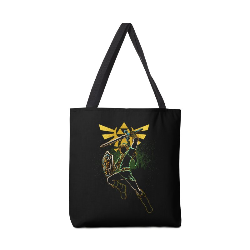 Shadow of courage Accessories Bag by Donnie's Artist Shop