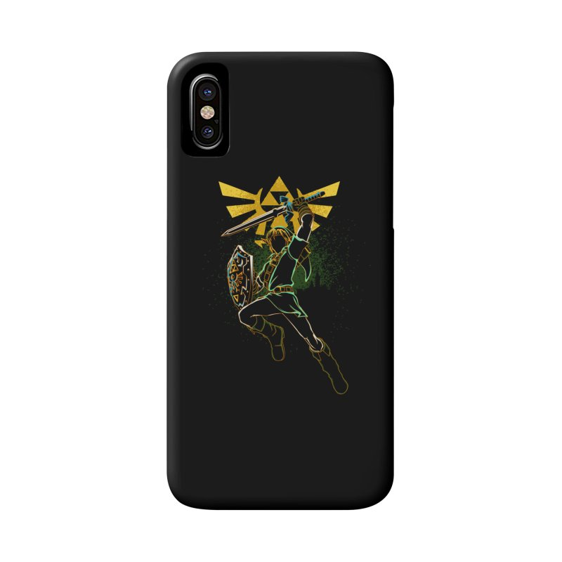 Shadow of courage Accessories Phone Case by Donnie's Artist Shop