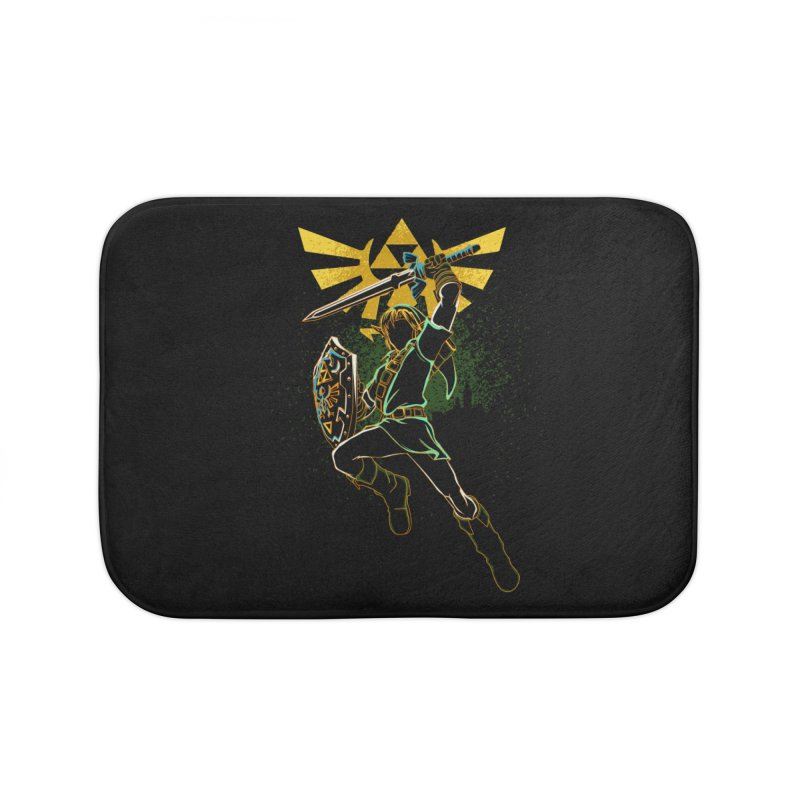 Shadow of courage Home Bath Mat by Donnie's Artist Shop