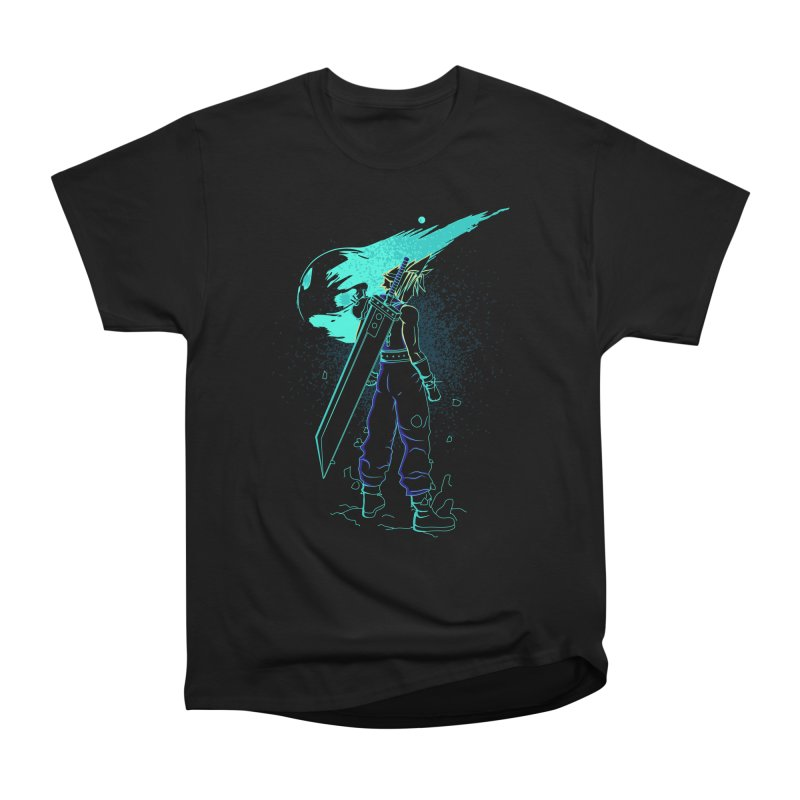 Shadow of the meteor Men's Heavyweight T-Shirt by Donnie's Artist Shop