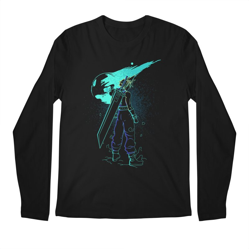 Shadow of the meteor Men's Regular Longsleeve T-Shirt by Donnie's Artist Shop