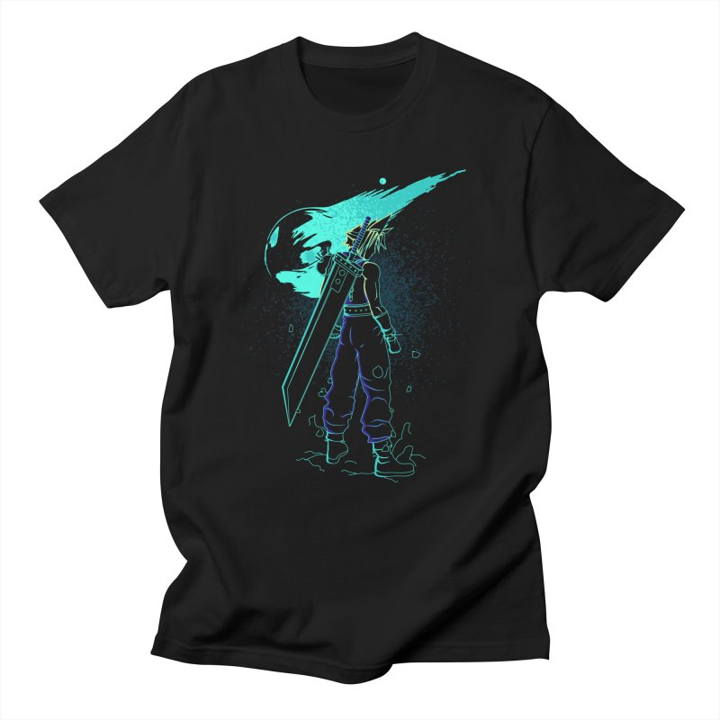 Shadow of the meteor Women's Regular Unisex T-Shirt by Donnie's Artist Shop