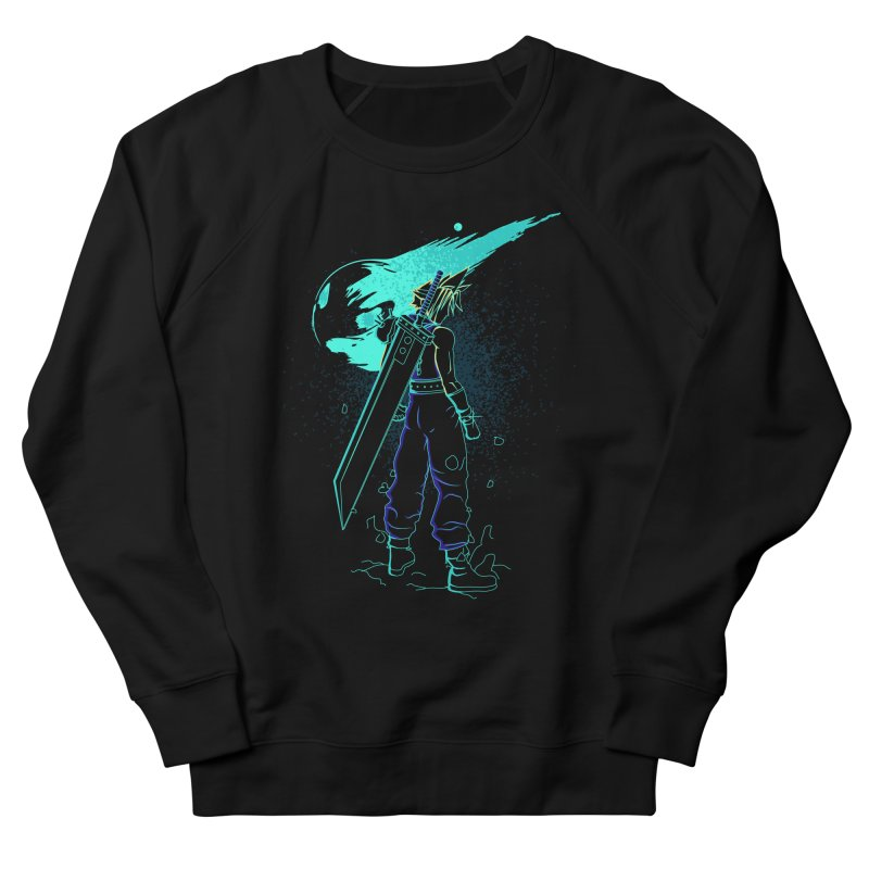 Shadow of the meteor Men's French Terry Sweatshirt by Donnie's Artist Shop