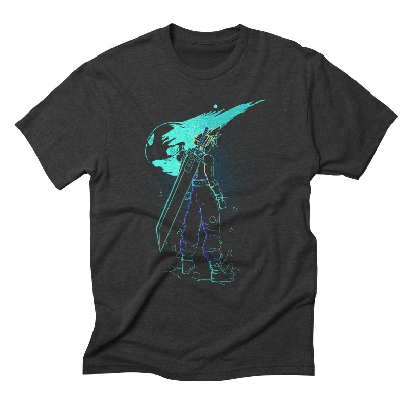 Shadow of the meteor Men's Triblend T-Shirt by Donnie's Artist Shop