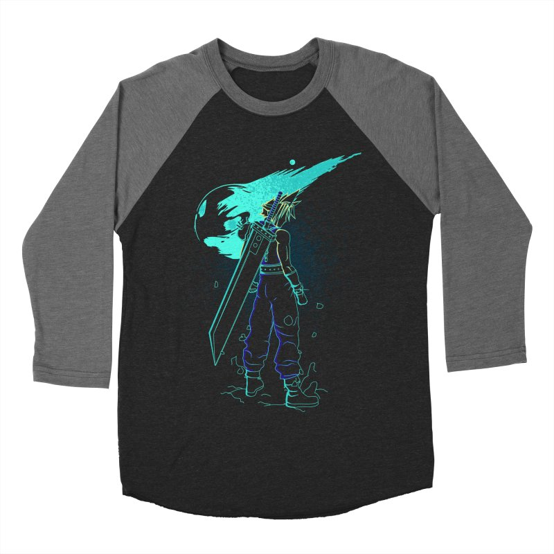Shadow of the meteor Women's Baseball Triblend Longsleeve T-Shirt by Donnie's Artist Shop