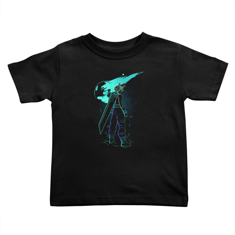 Shadow of the meteor Kids Toddler T-Shirt by Donnie's Artist Shop
