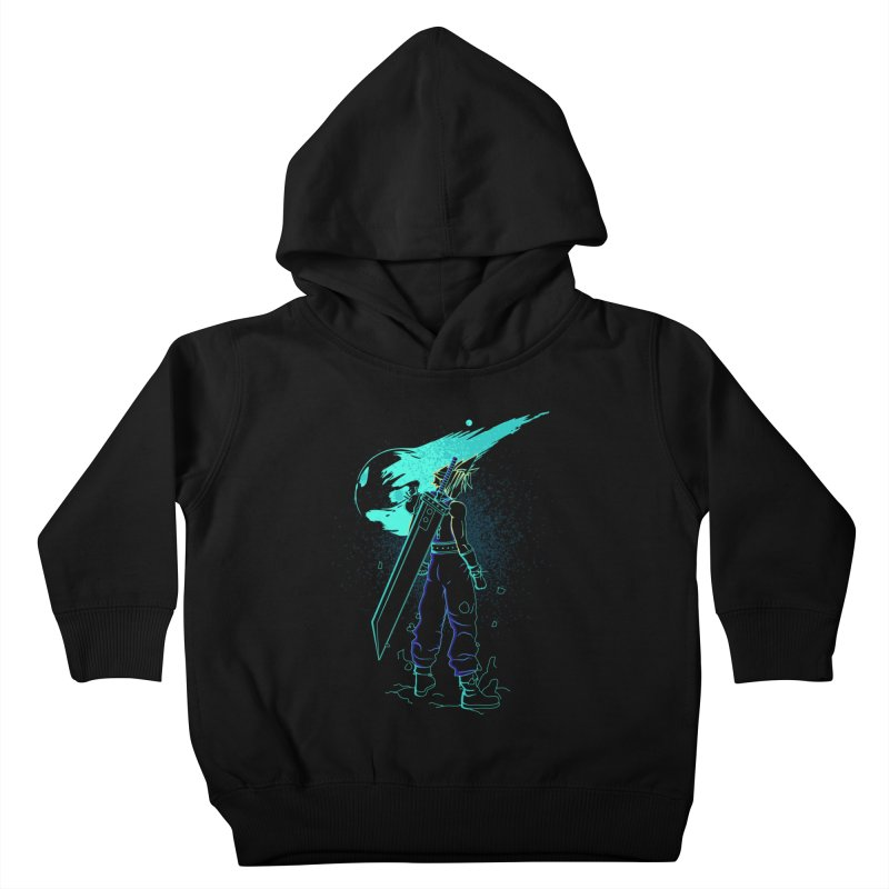 Shadow of the meteor Kids Toddler Pullover Hoody by Donnie's Artist Shop