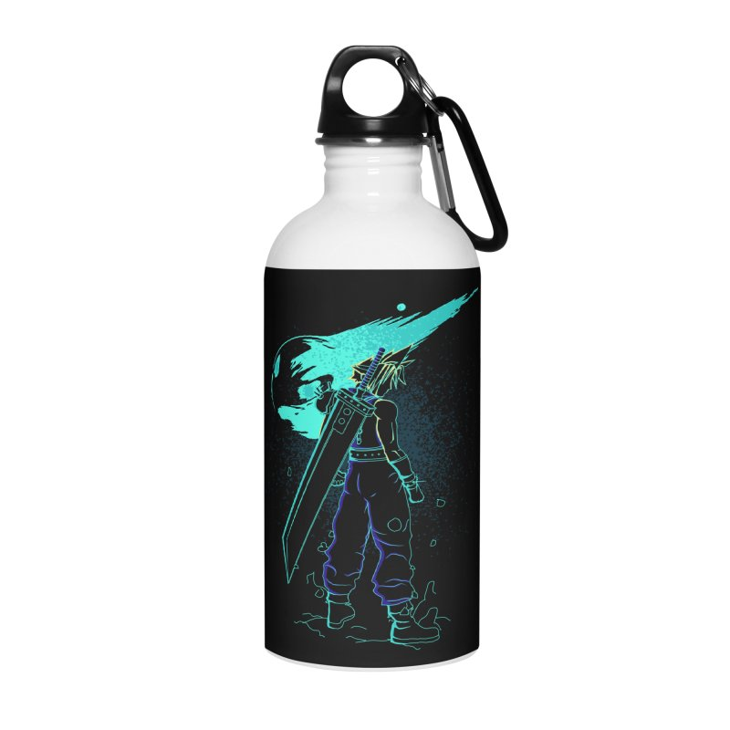 Shadow of the meteor Accessories Water Bottle by Donnie's Artist Shop