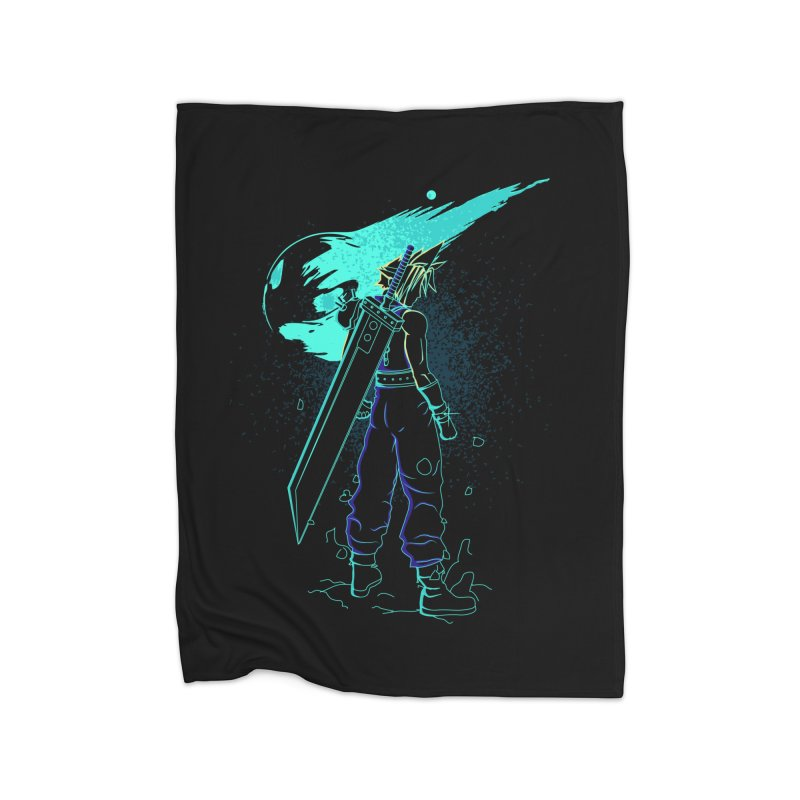 Shadow of the meteor Home Blanket by Donnie's Artist Shop