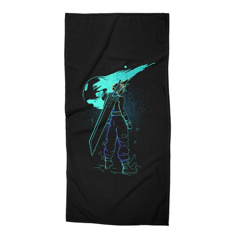 Shadow of the meteor Accessories Beach Towel by Donnie's Artist Shop