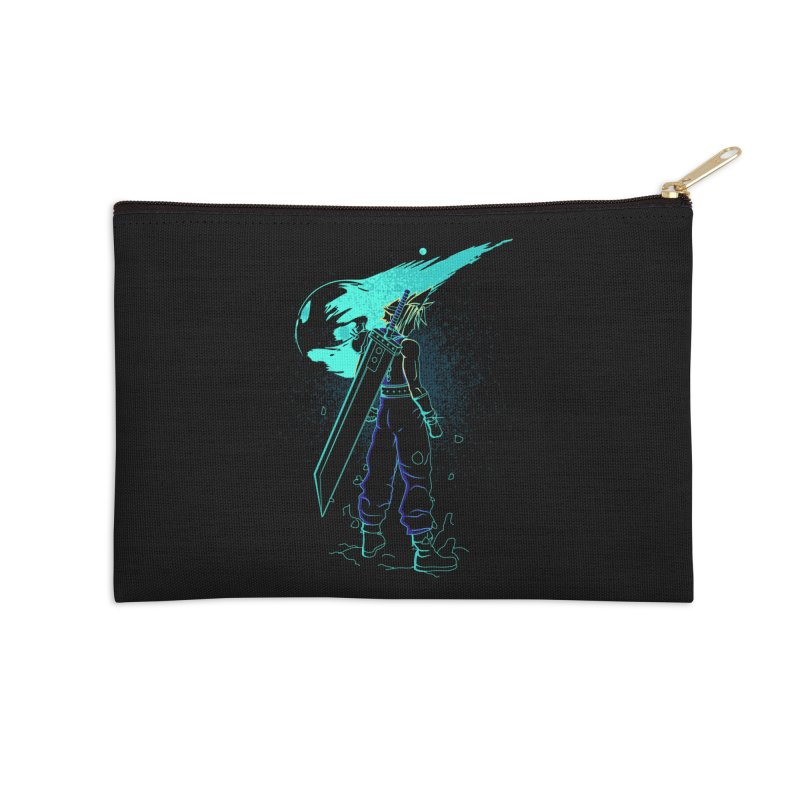 Shadow of the meteor Accessories Zip Pouch by Donnie's Artist Shop