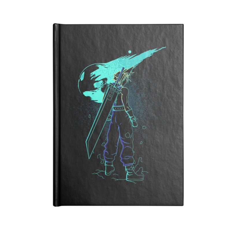 Shadow of the meteor Accessories Notebook by Donnie's Artist Shop