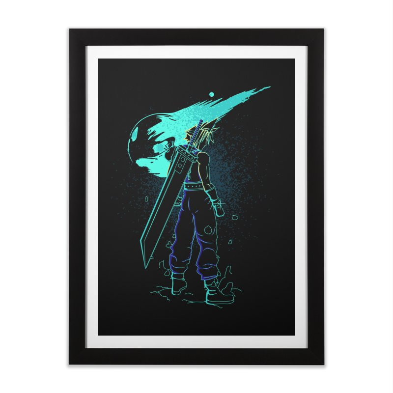 Shadow of the meteor Home Framed Fine Art Print by Donnie's Artist Shop