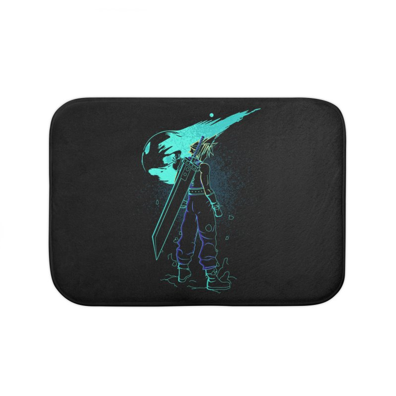 Shadow of the meteor Home Bath Mat by Donnie's Artist Shop