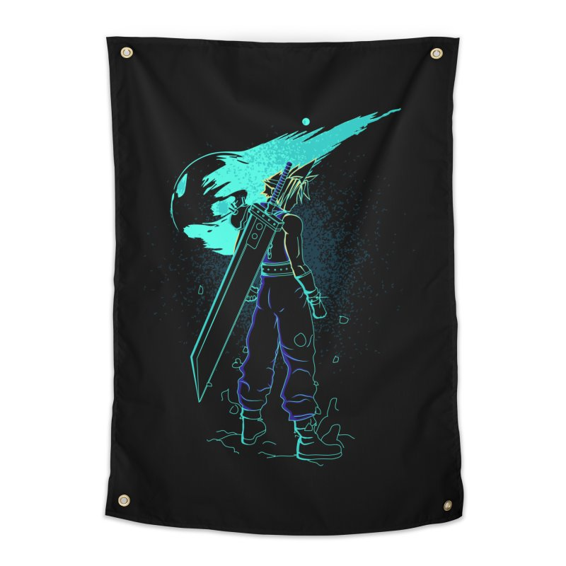 Shadow of the meteor Home Tapestry by Donnie's Artist Shop