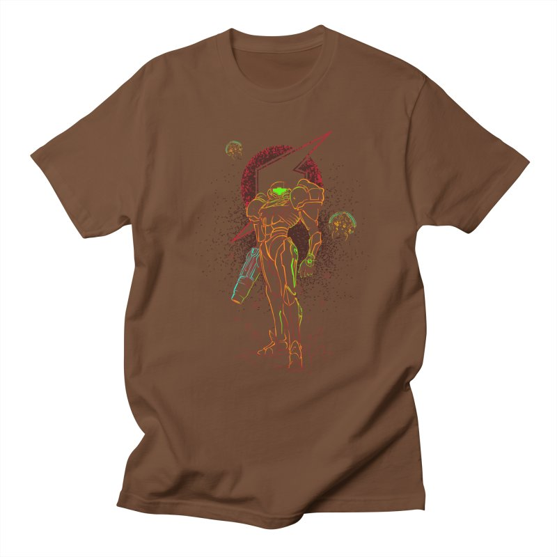 Shadow of bounty hunter Men's Regular T-Shirt by Donnie's Artist Shop