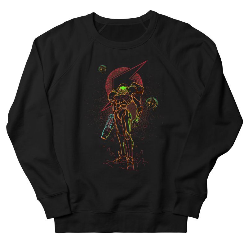 Shadow of bounty hunter Men's French Terry Sweatshirt by Donnie's Artist Shop