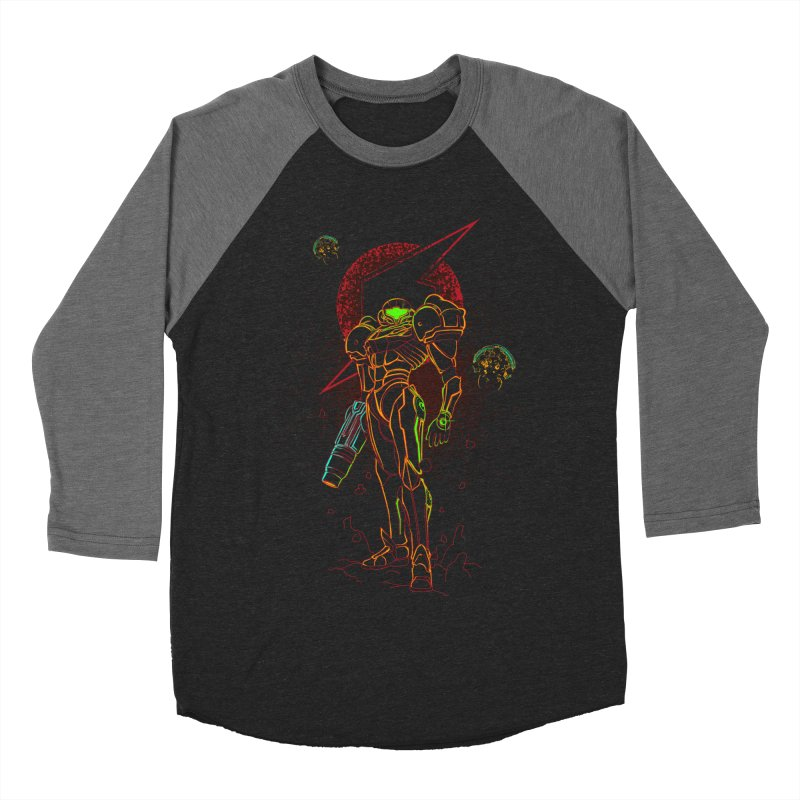 Shadow of bounty hunter Women's Baseball Triblend Longsleeve T-Shirt by Donnie's Artist Shop