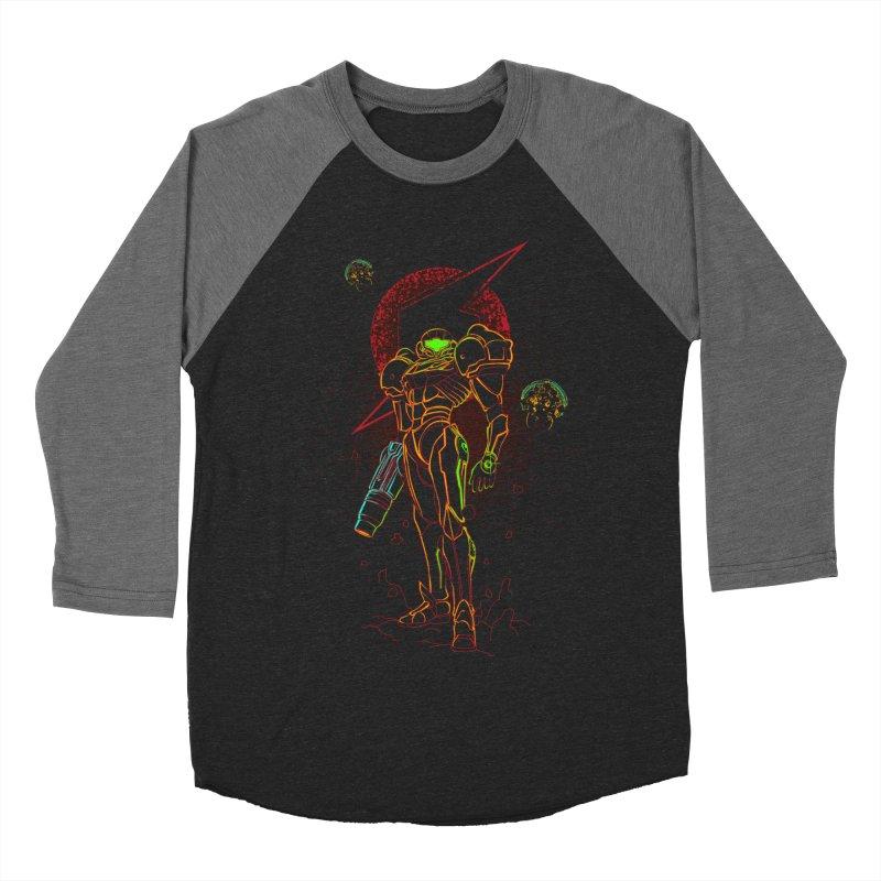 Shadow of bounty hunter Men's Baseball Triblend Longsleeve T-Shirt by Donnie's Artist Shop